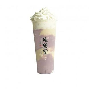 弘历红豆芋泥 Totaro Milk Tea Cream w Pearl & Red Bean
