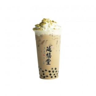 红颜魏璎珞 Honey Ceylon Pearl Milk Tea w Pistachio