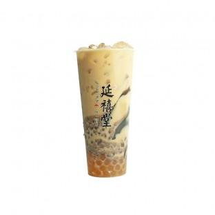 爱新觉罗三兄弟 Earl Grey Milk Tea w 3Tp (RedBean, Pearl & Soft Glass Jelly)