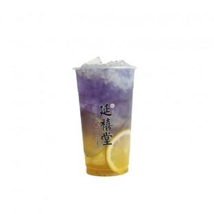 雪落下的声音 Honey Lemon Passion Fruit Blue Flower Sparkling w Nata